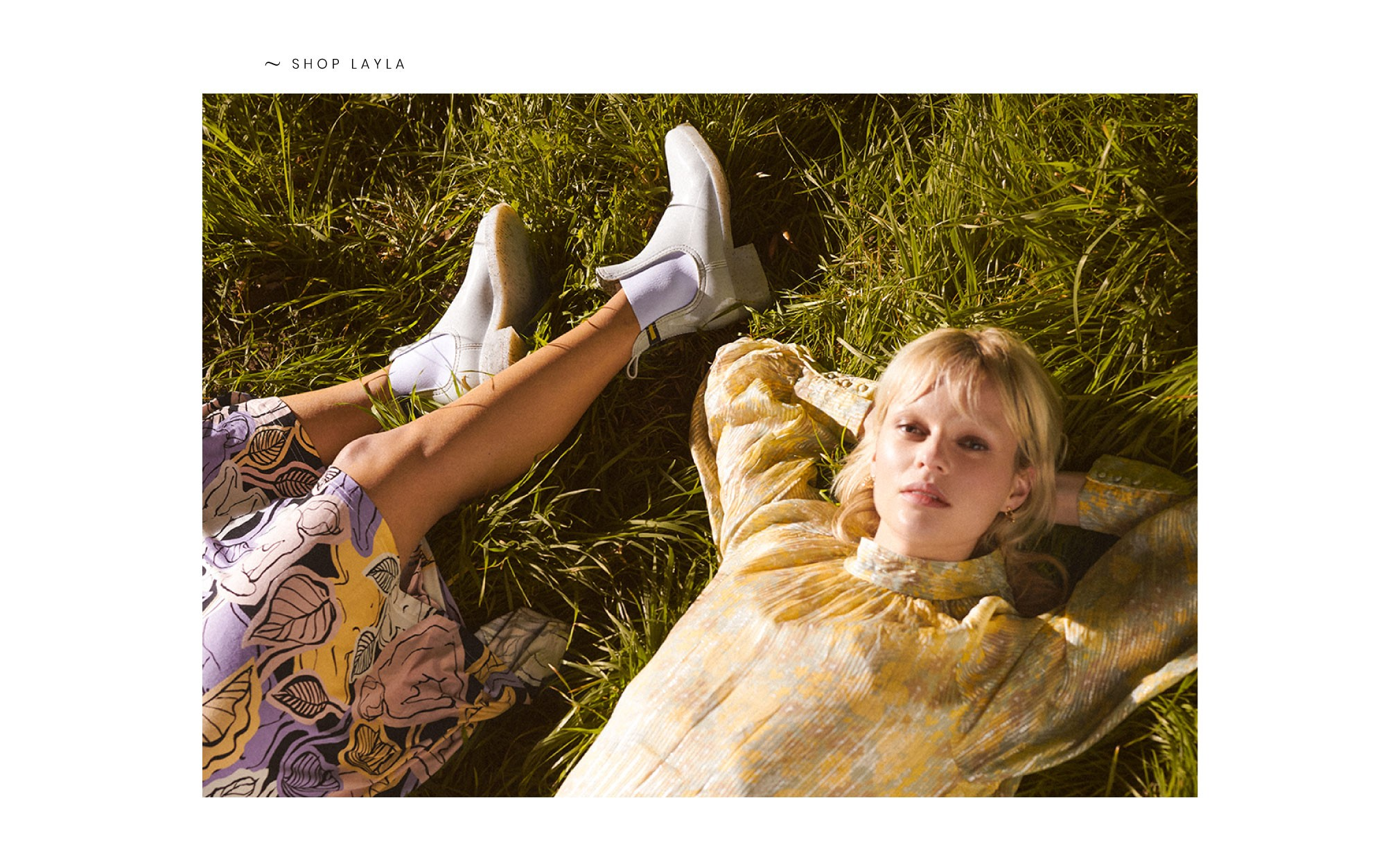 White recycled boots Layla Spring summer 2020