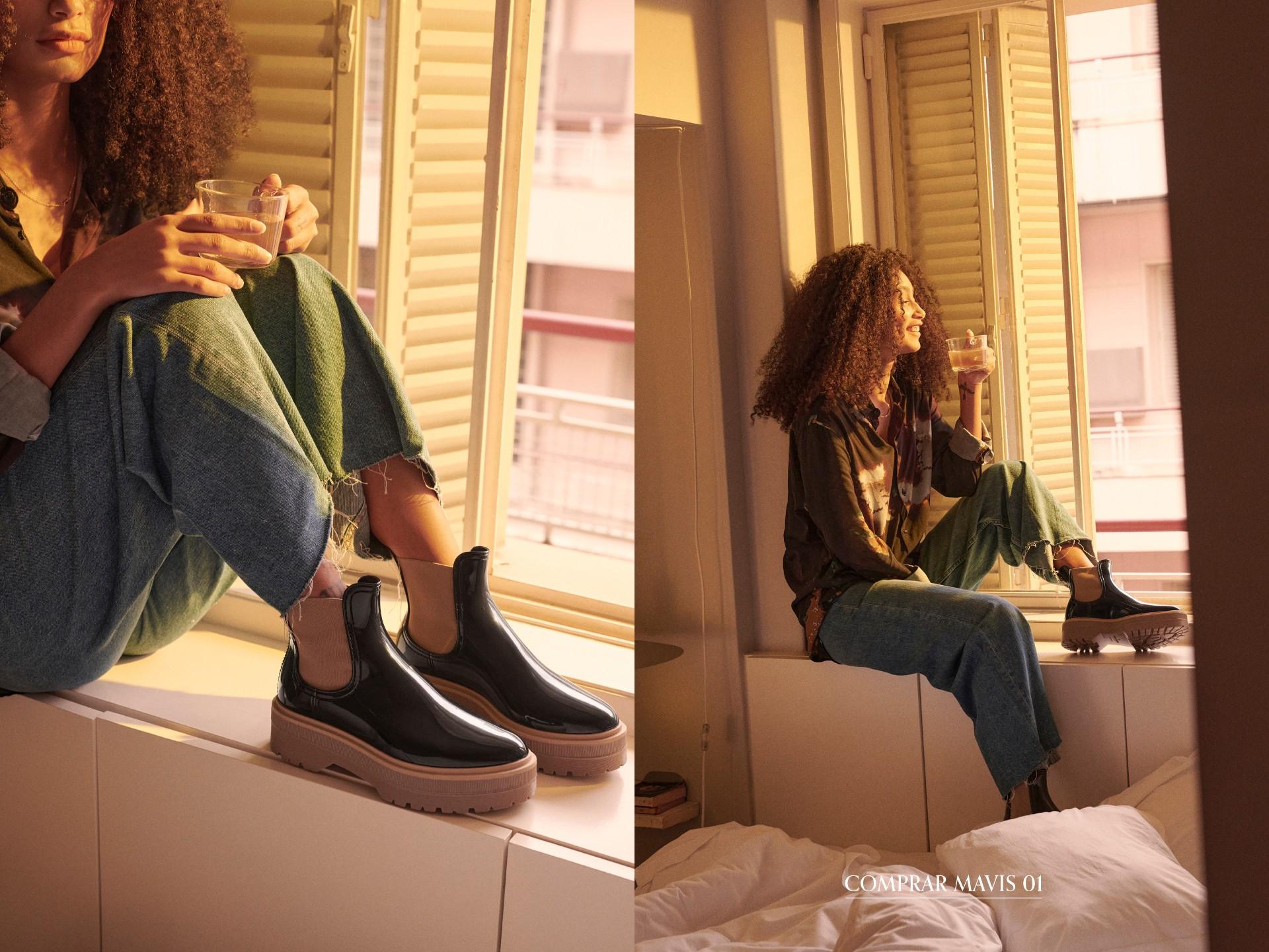 botas pretas para mulher primavera verão