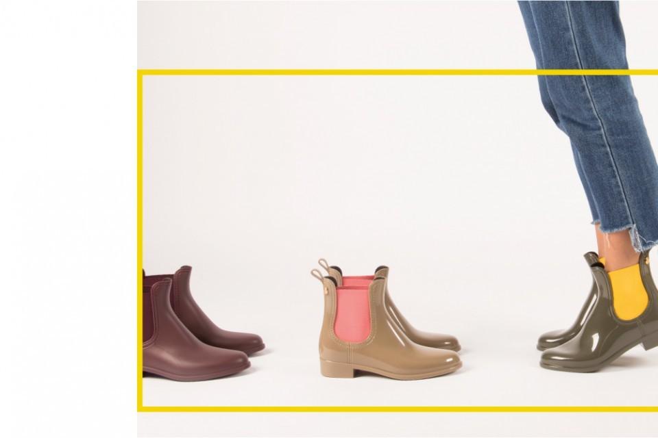 Colourful Rain Boots