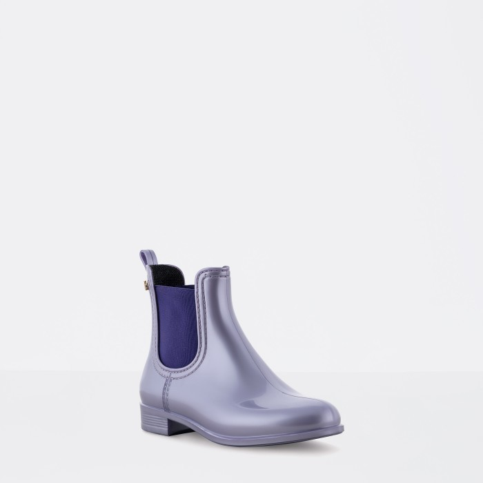 Purple Ankle Boot