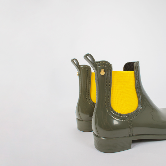 Lemon Jelly | Green Waterproof Ankle Boot for Kids MINI PISA 03