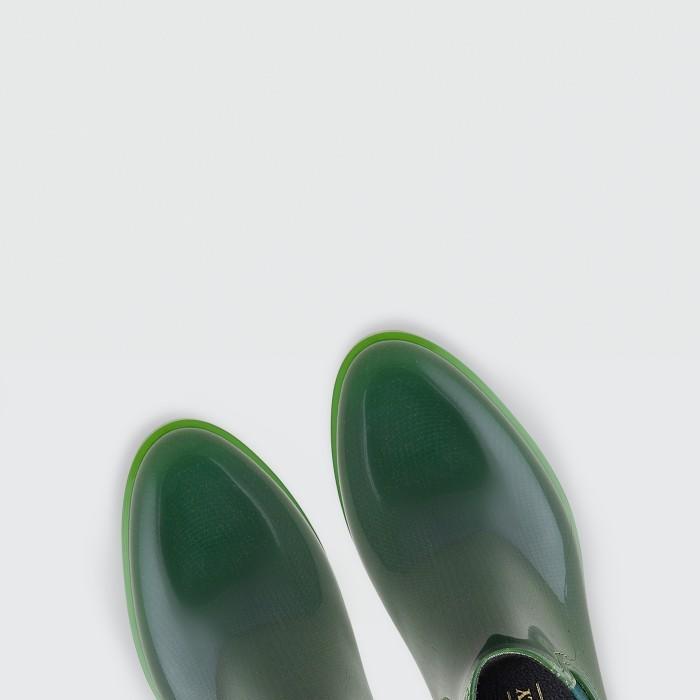 Lemon Jelly Botins Fenos de Plástico Verde COMFY 13