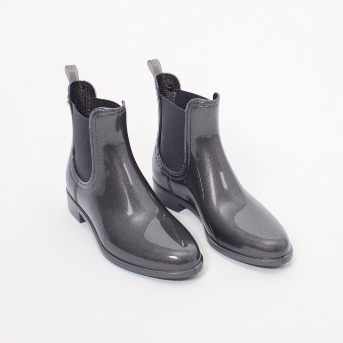 Lemon Jelly | Grey Rain Boots for Women COMFY 09
