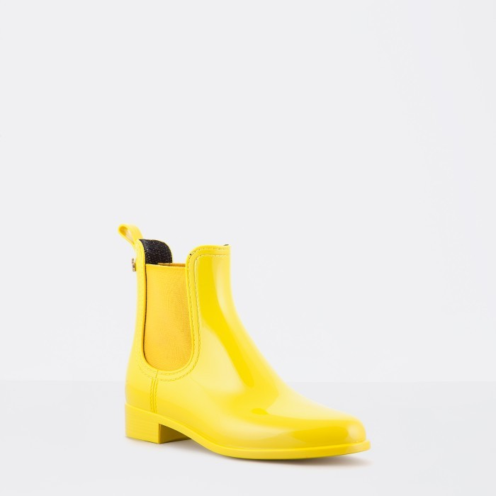 Lemon Jelly | Yellow Rain Boots | Jelly Shoes COMFY 12