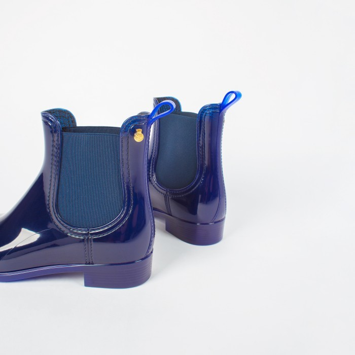Lemon Jelly | Blue Rain Boots for Women | Women COMFY 04