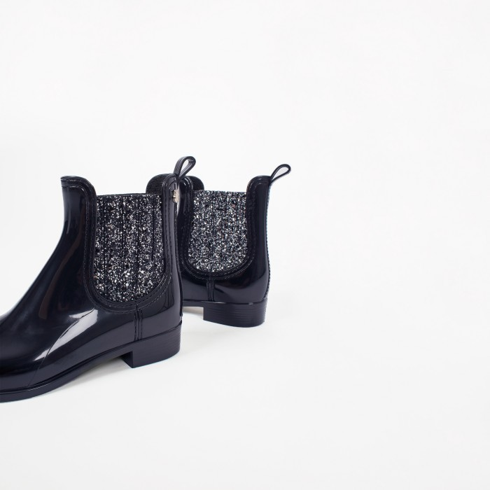 Vegan Black Ankle Boot