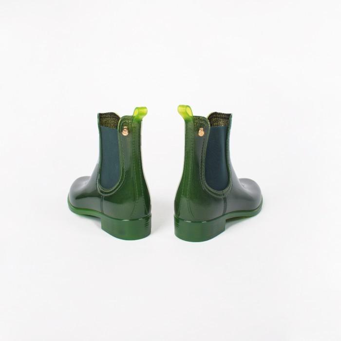 Lemon Jelly | Bottle Green Rain Boots for Women COMFY 13