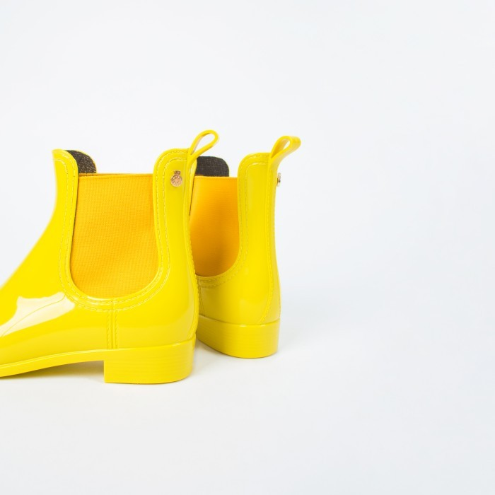 Lemon Jelly Yellow Rain Boots | Jelly Shoes COMFY 12