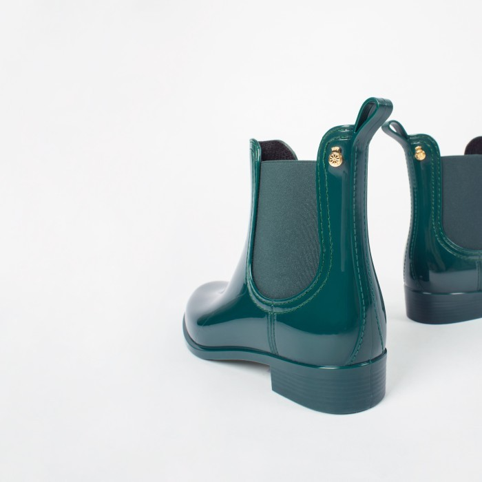 Lemon Jelly | Green Rain Boots | Women COMFY 05