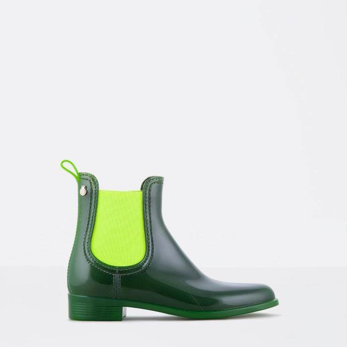 Lemon Jelly Green Waterproof Ankle Boot | Women PISA 01