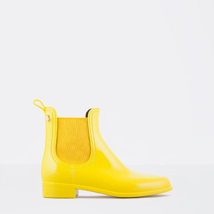 Lemon Jelly | Botins Femininos de Chuva Amarelos COMFY 12