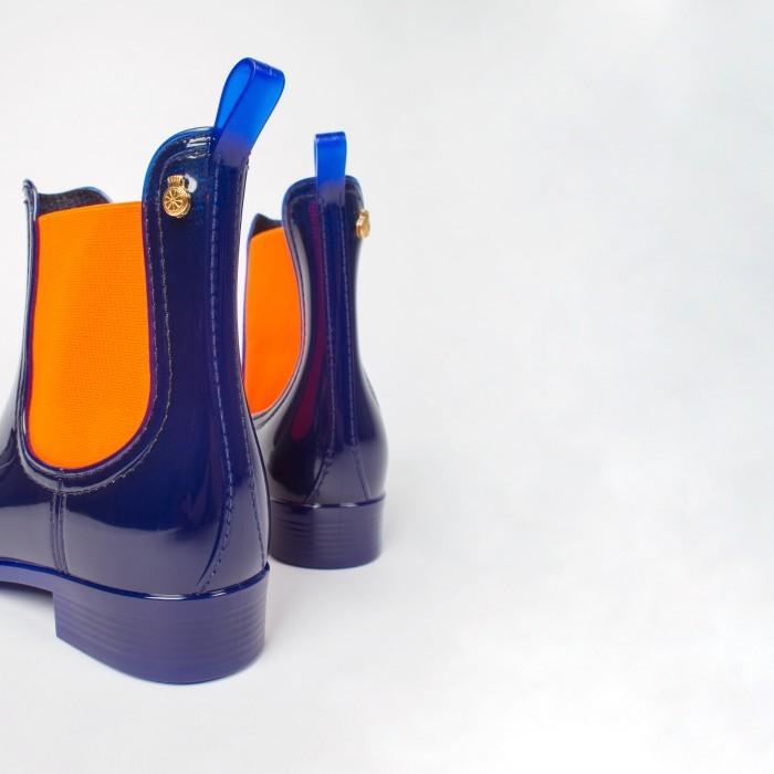 Lemon Jelly Botim de Plástico Azul e Laranja PISA 02