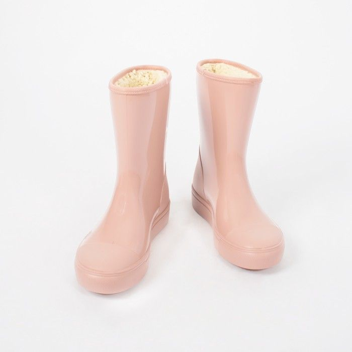 Pink Knee High Boot
