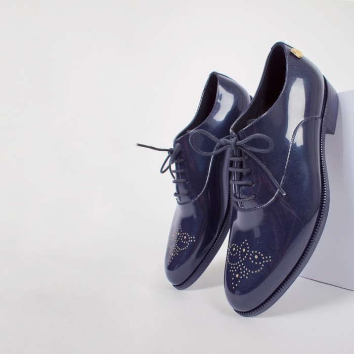 Blue Oxford Shoe