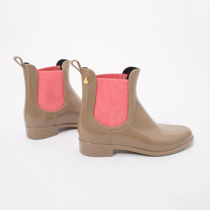 Lemon Jelly | Pink Waterproof Ankle Boot | Women PISA 16