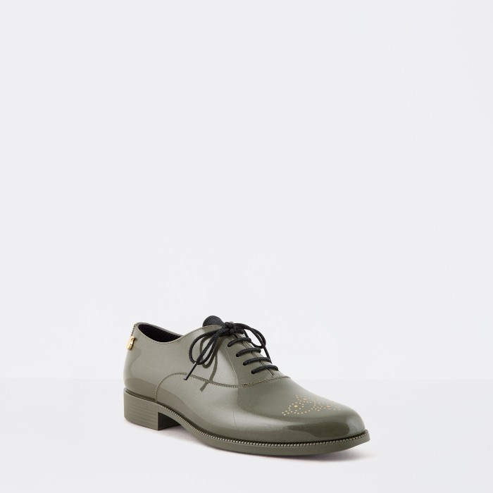 Lemon Jelly | Sapatos Oxford Femininos Verdes JENY 12