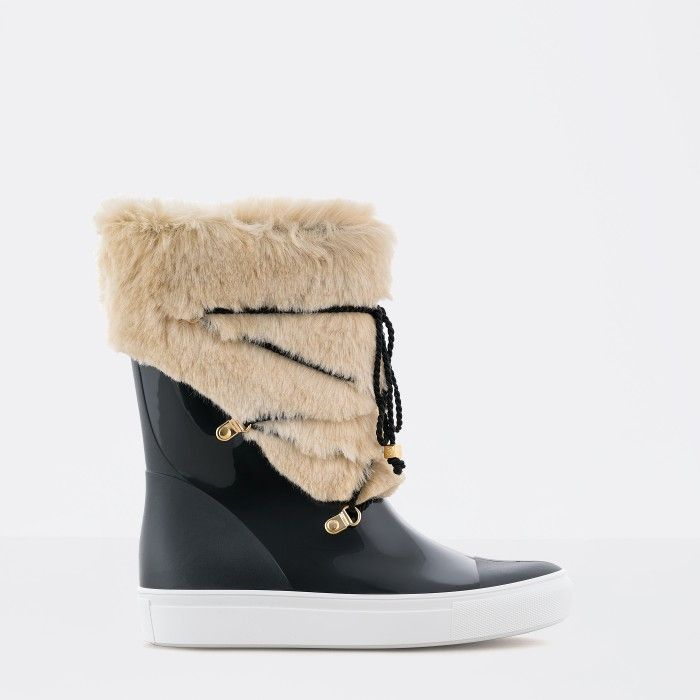 Beige Ankle Boot