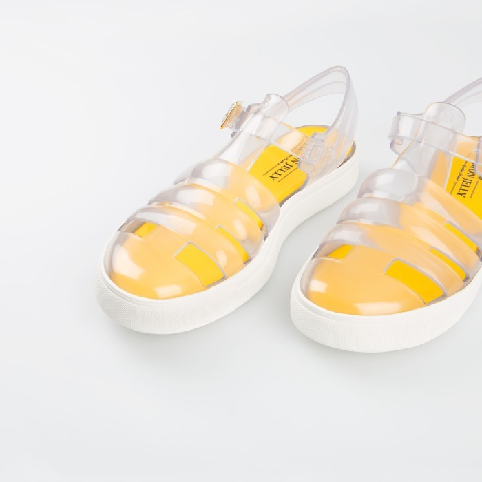 Lemon Jelly | Clear Fisherman Jelly Sandals | Woman CRYSTAL 06