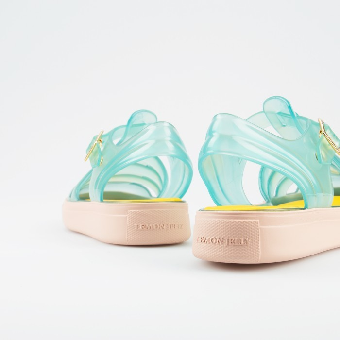 Lemon Jelly | Clear Mint Jelly Sandals | Woman CRYSTAL 07