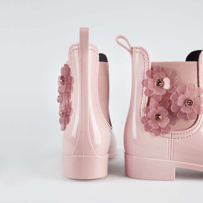 Pink Ankle Boot