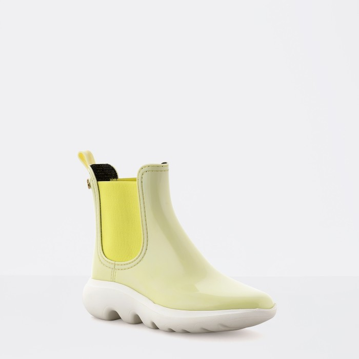 Yellow Ankle Boot