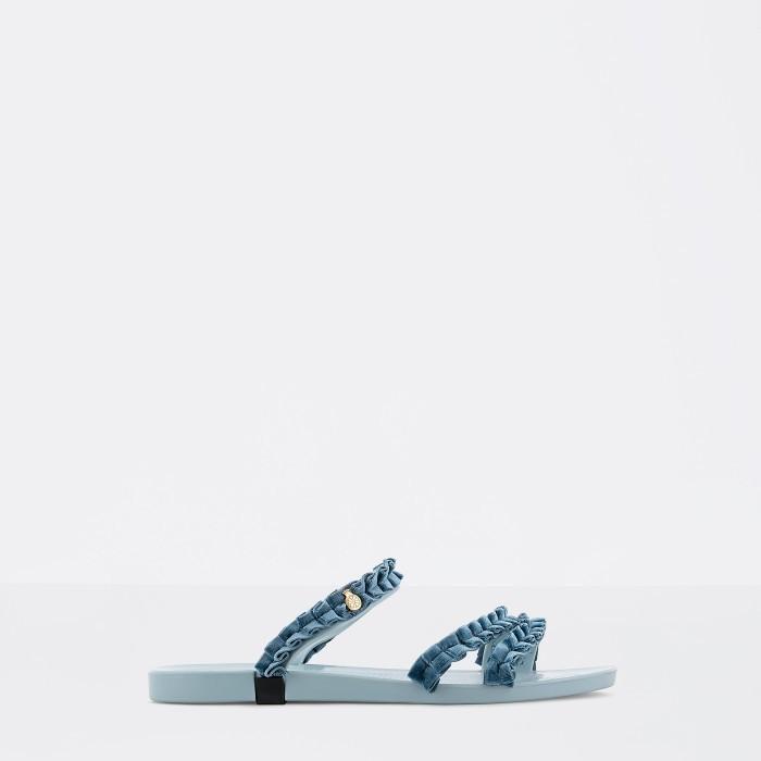 Sandália Azul