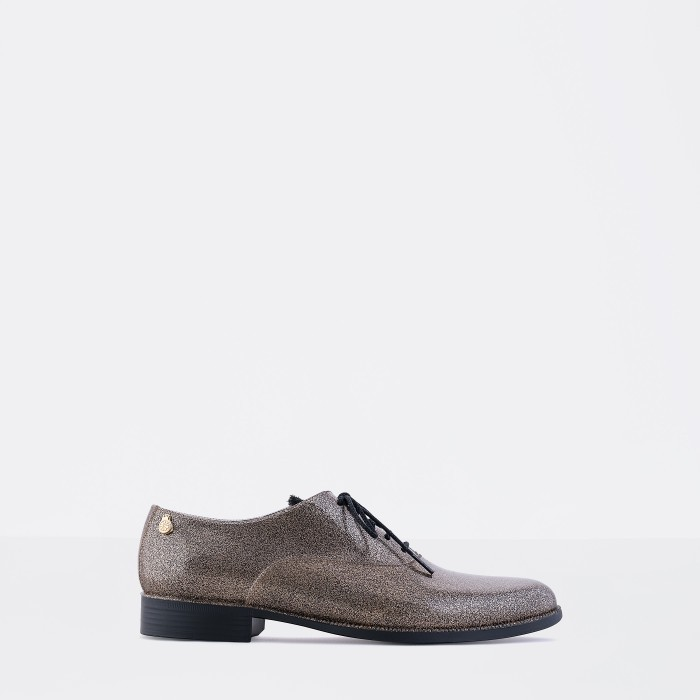 Lemon Jelly | Brown Oxford Shoe with Glitter | Women SPARKLE 01
