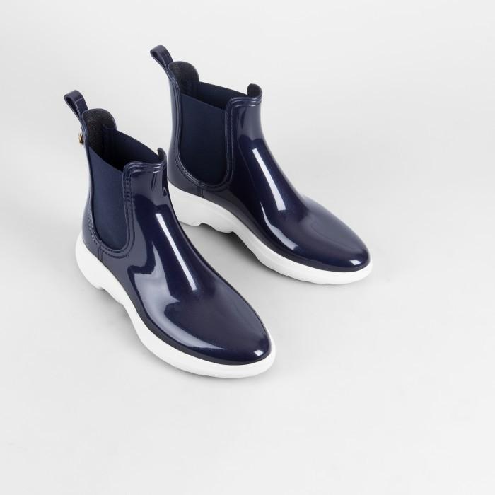 Lemon Jelly Blue Platform Boots  Jelly Shoes GRAVITY 05