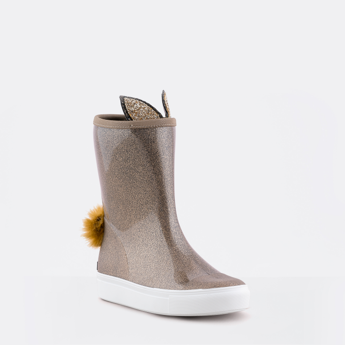 Lemon Jelly | Golden Girl Knee High Winter Boots GABBY 02