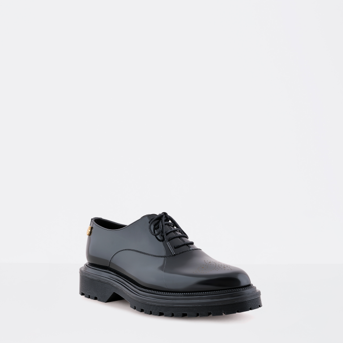 Lemon Jelly Woman Black Oxford Shoes with Platform CAM 04