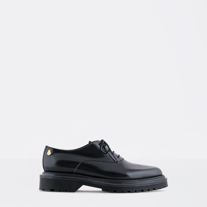Lemon Jelly | Woman Black Oxford Shoes with Platform CAM 04