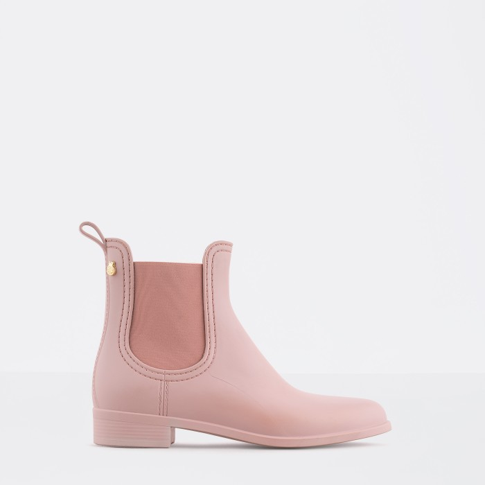Lemon Jelly | Pink Matte Rain Boots  Jelly Shoes SPLASH 10