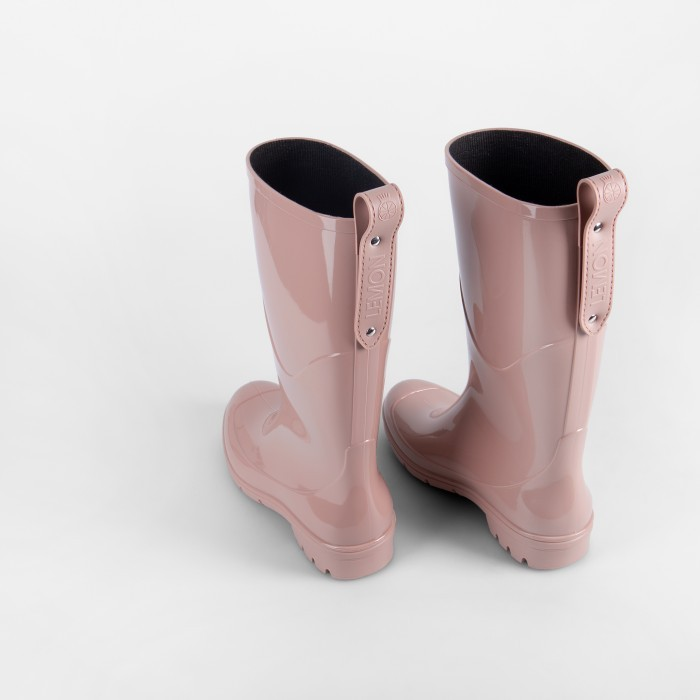 Lemon Jelly | Pink Waterproof Knee High Boots | Women PULLER 05