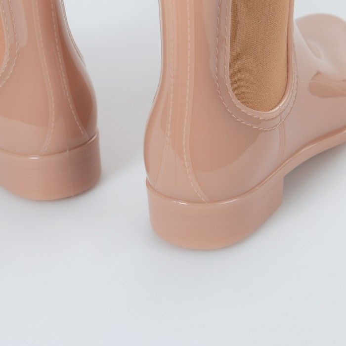 Lemon Jelly | Caramel Chelsea Rain Boots | Woman COMFY 32