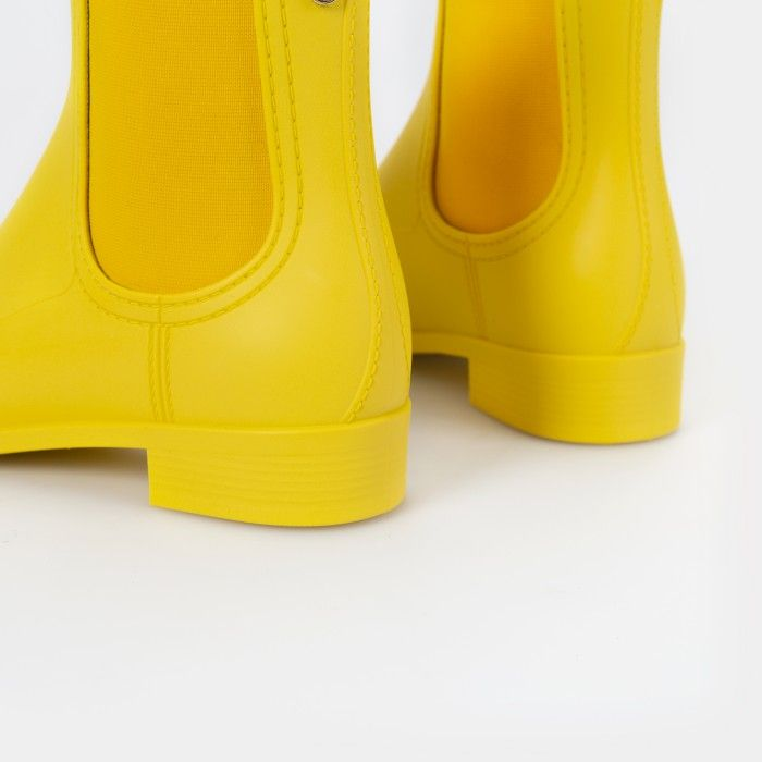 Lemon Jelly Yellow Summer Ankle Boots | Woman SPLASH 13