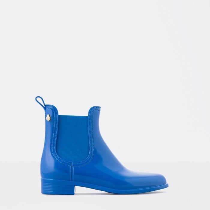 Lemon Jelly | Blue Chelsea Rain Boots | Woman COMFY 29