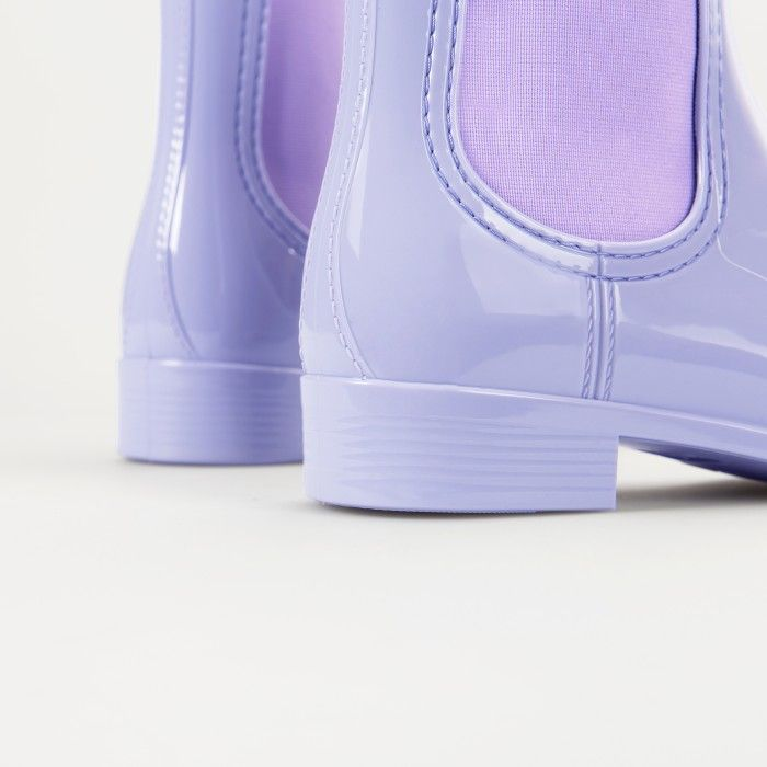 Lemon Jelly | Purple Chelsea Rain Boots | Woman COMFY 31