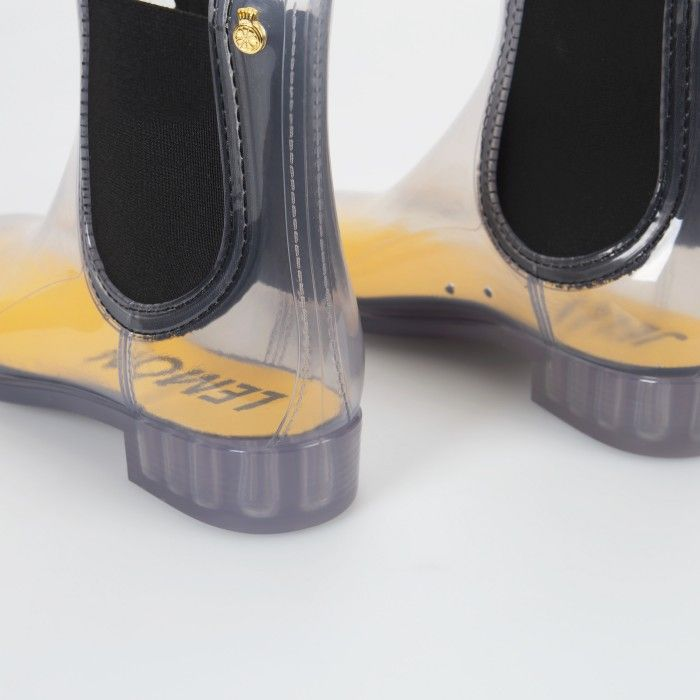 Lemon Jelly | Clear Summer Ankle Boots | Woman TESS 01