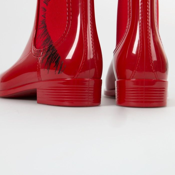 Lemon Jelly | Red Chelsea Woman Boots | Valentines' HEARTBREAKER 01