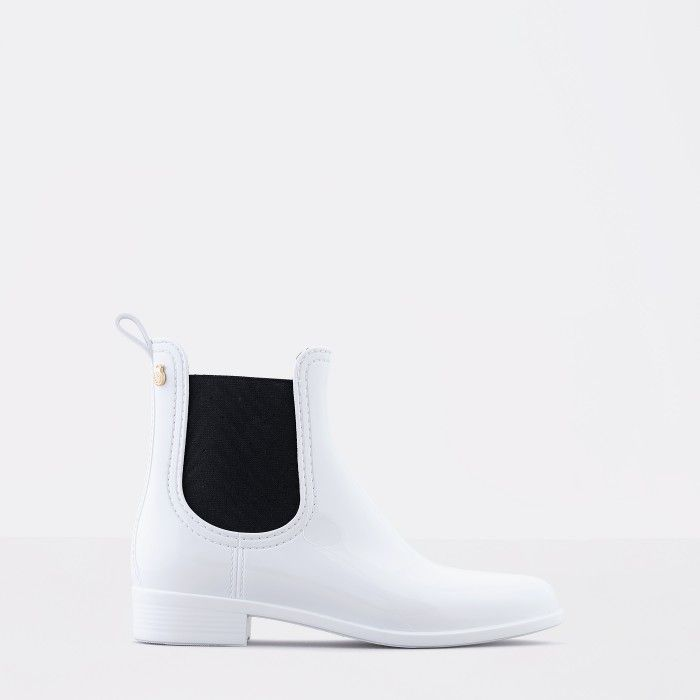 Lemon Jelly | White Chelsea Summer Boots | Woman PISA 32