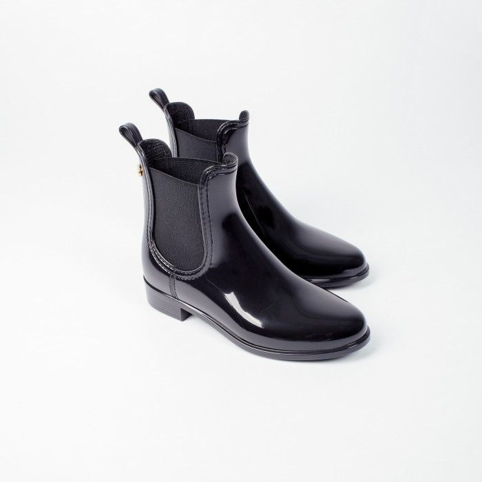 Lemon Jelly Black Rain Chelsea Boots | Women COMFY 01