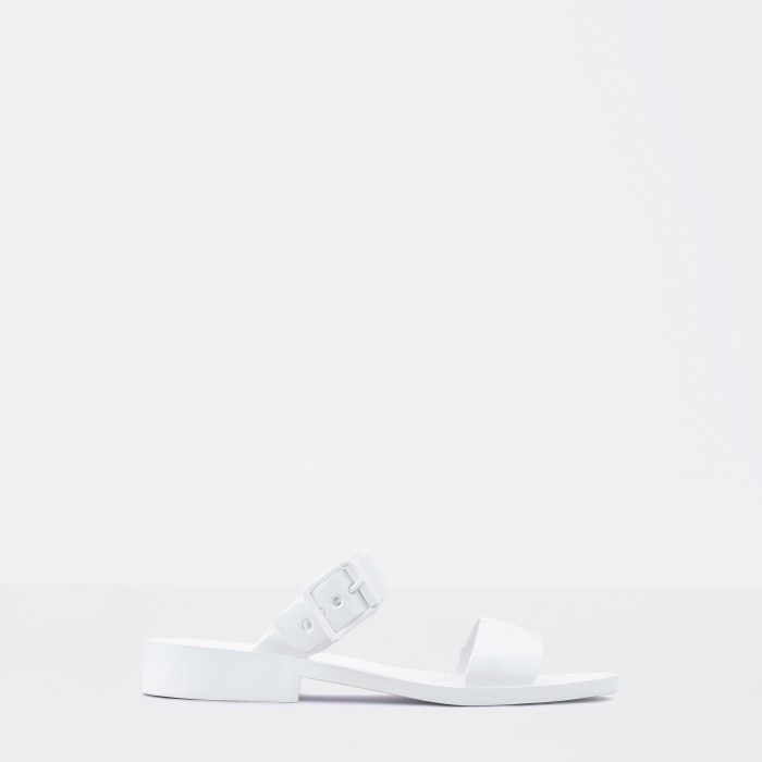 Lemon Jelly | White Heeled Jelly Sandals | Woman CARLY 05
