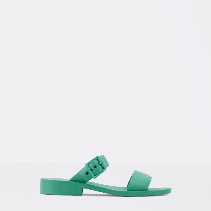 Lemon Jelly | Green Heeled Jelly Sandals | Woman CARLY 03