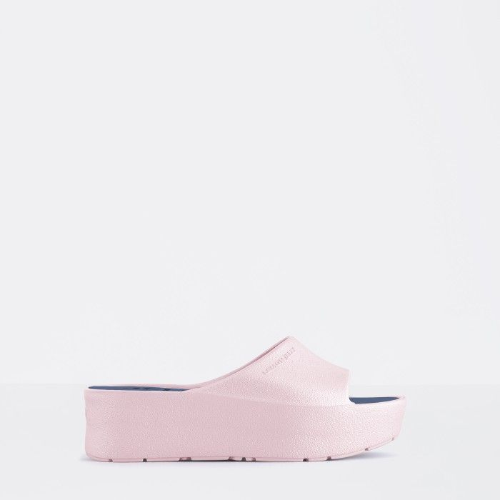 Lemon Jelly | Pink Platform Slides for Woman SUNNY 07
