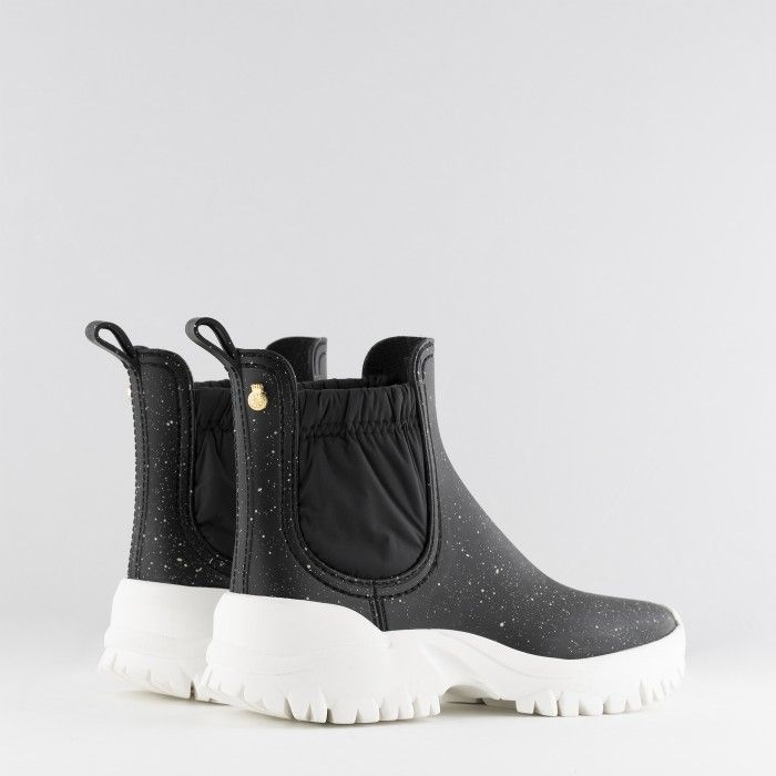 Lemon Jelly | Matte Black Sporty Low Boots | Women SHIRLEY 01