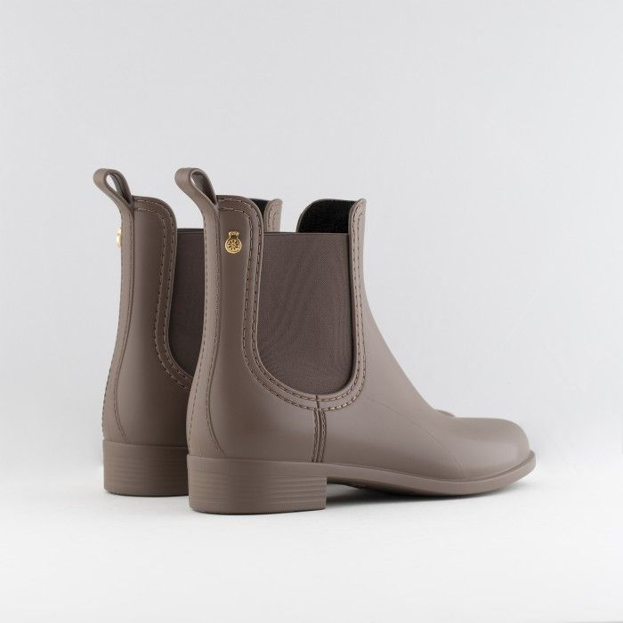 Lemon Jelly Botas Chelsea Castanhas Mate | Vegan SPLASH 14