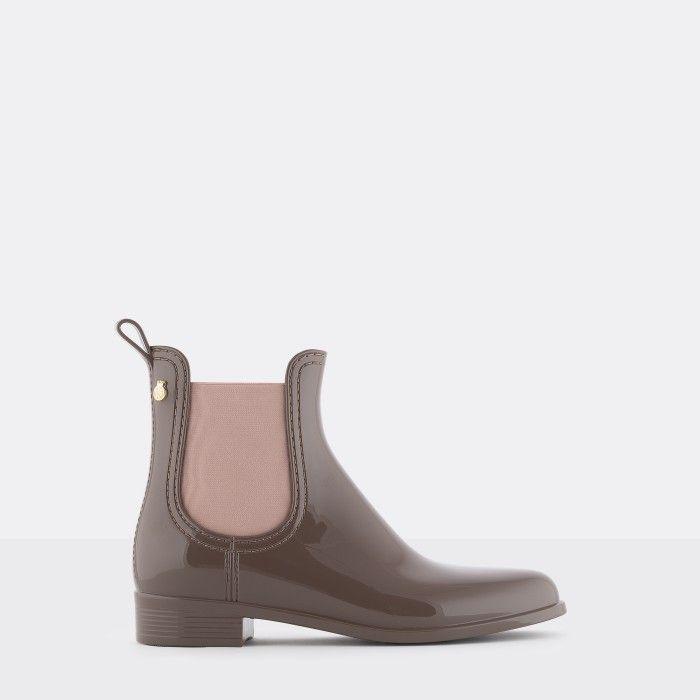 Lemon Jelly | Brown/Pink Chelsea Boots | Vegan | Mulher PISA 34