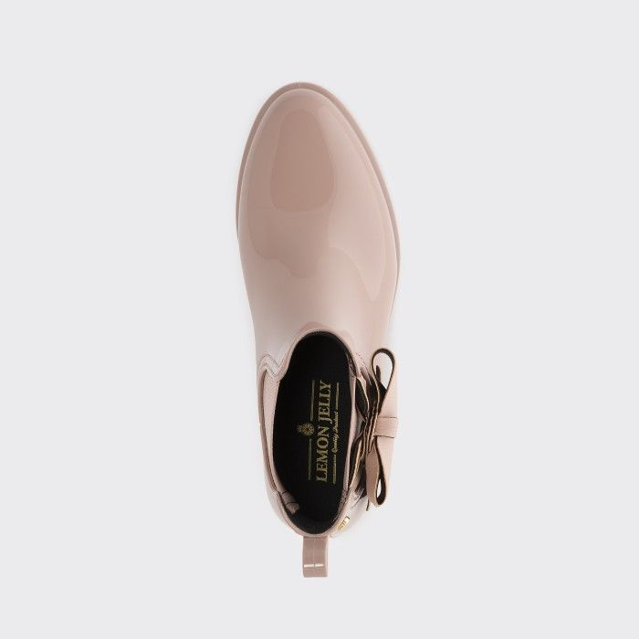Lemon Jelly | Pink Chelsea Boots Castanhos with Bow BREANNA 04
