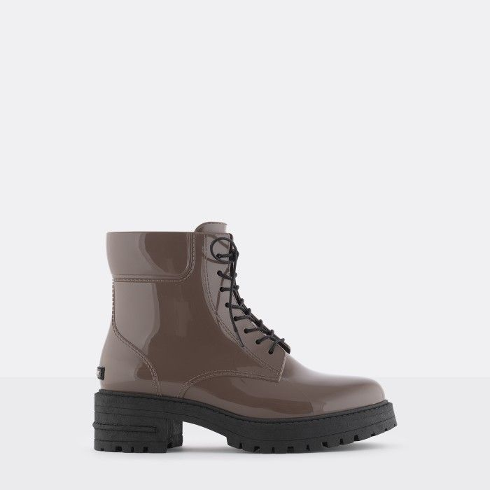 Lemon Jelly | Brown Military Boots | Vegan | Women CAILYN 02