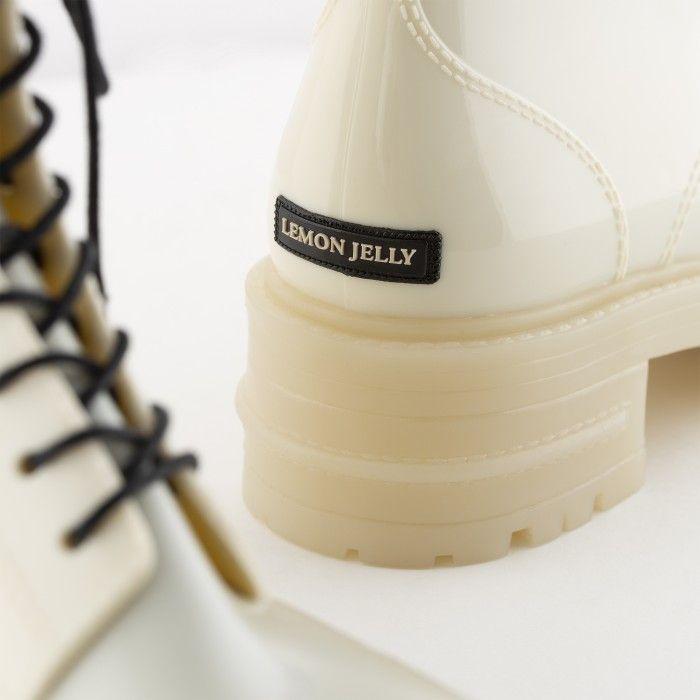 Lemon Jelly | Botas Militares Brancas | Botas Vegan CAILYN 04